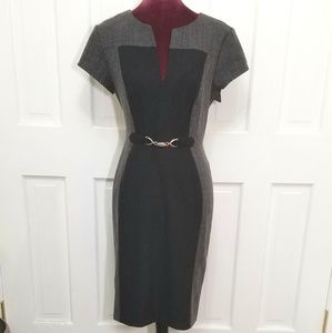 CONNECTED APPAREL 2 Tone Dress